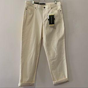 Calvin Klein Off White Jeans | Size 6